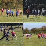 Partnership Pupils Give Tag Rugby a 'Try'...!
